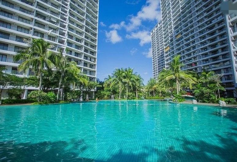 Sanya Sea View Holiday Apartment, Sanya, Бассейн