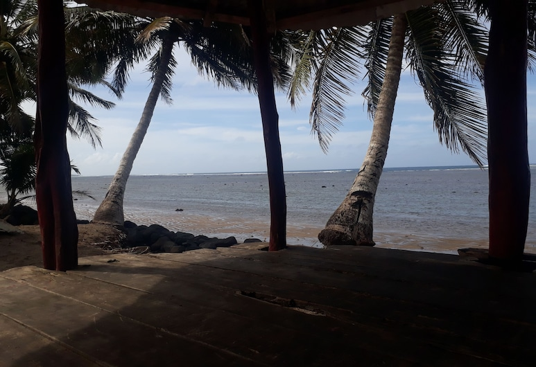 Sina PJ Beach Fales and Surf, Tafitoala, Lobby Sitting Area
