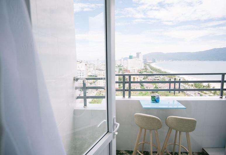 峴港戴西公寓飯店, 峴港, 公寓, 2 間臥室, 海景, 露台