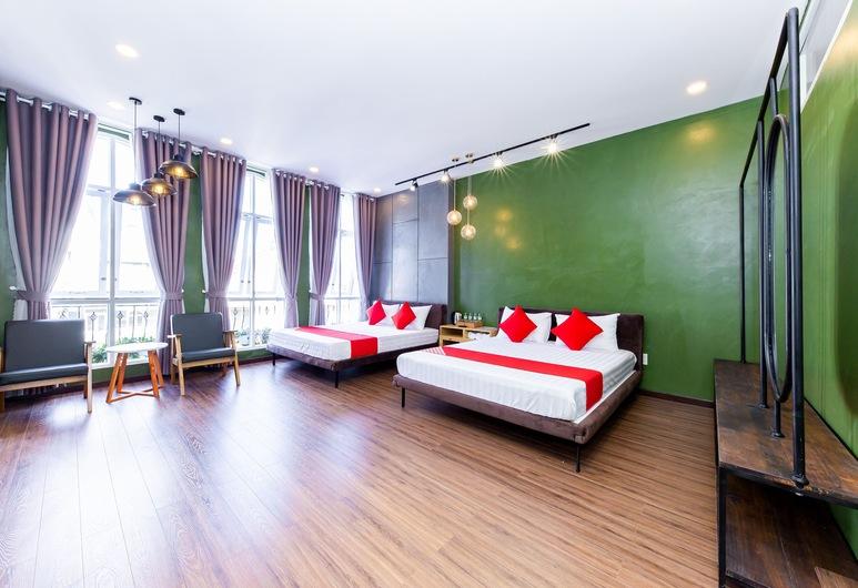 Seven A Hotel, Da Lat, Deluxe - neljän hengen huone, Näköala huoneesta