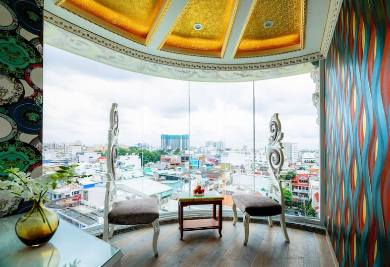 Ken Hotel 2, Ho Chi Minh City, Superior-rum, Vardagsrum