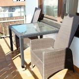 Komforta divvietīgs numurs, virtuvīte, skats uz dārzu - Balkons