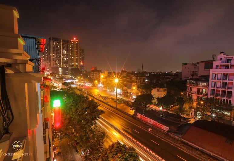 Golden Hotel 2, Hanoi, Apartament dla nowożeńców typu Suite, Balkon