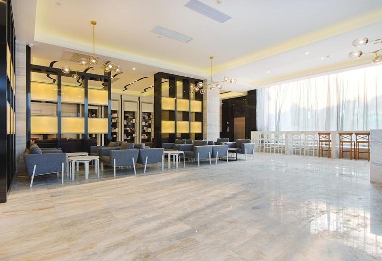 Lavande Hotel, Canton, Salottino della hall