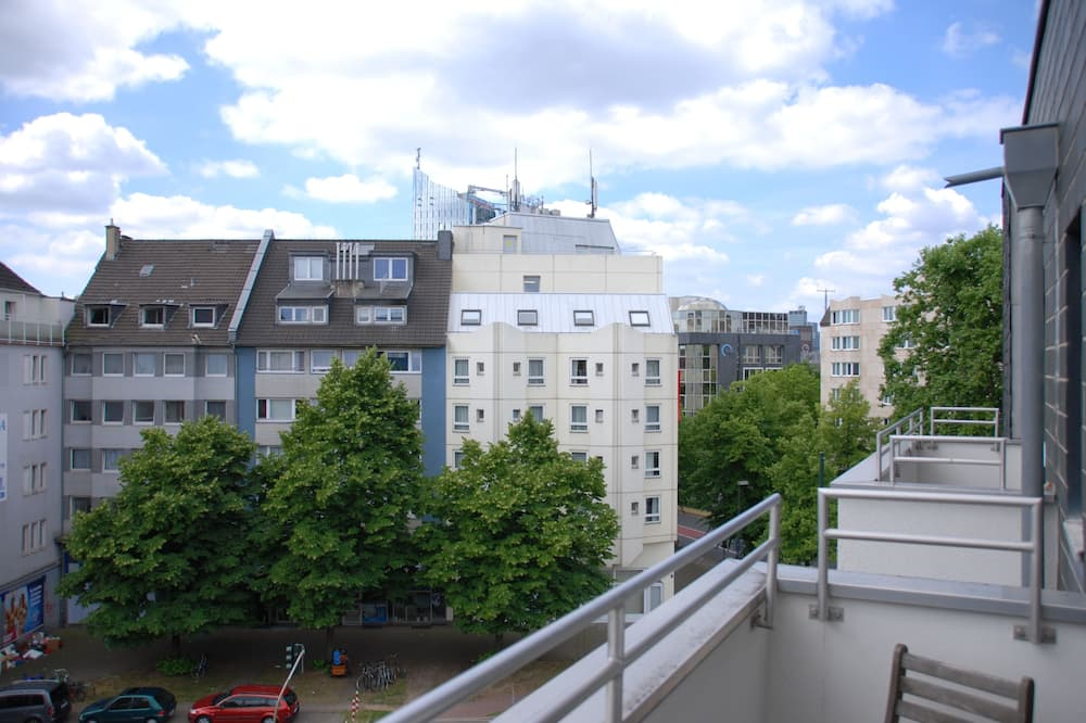 Apartmán (5. Etage, rechts) - Balkón