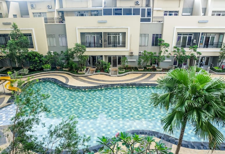 Spacious 1BR for 5 Pax at Maple Park Apartment, Jakarta