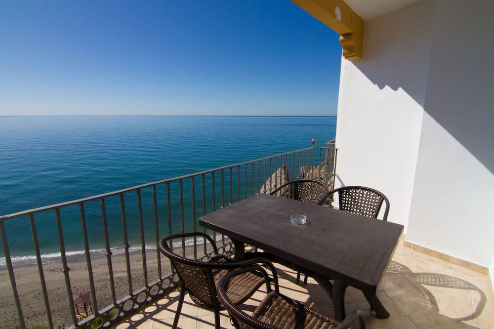 Külaliskorter, 2 magamistoaga, terrass, vaade merele - Rõdu