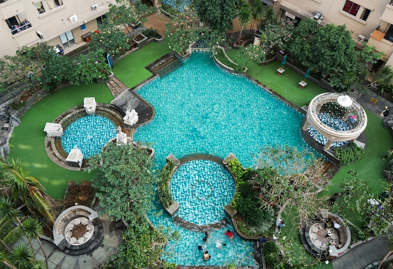 Ancol Marina 1BR Twin Bed Tower A, Jakarta, Piscine