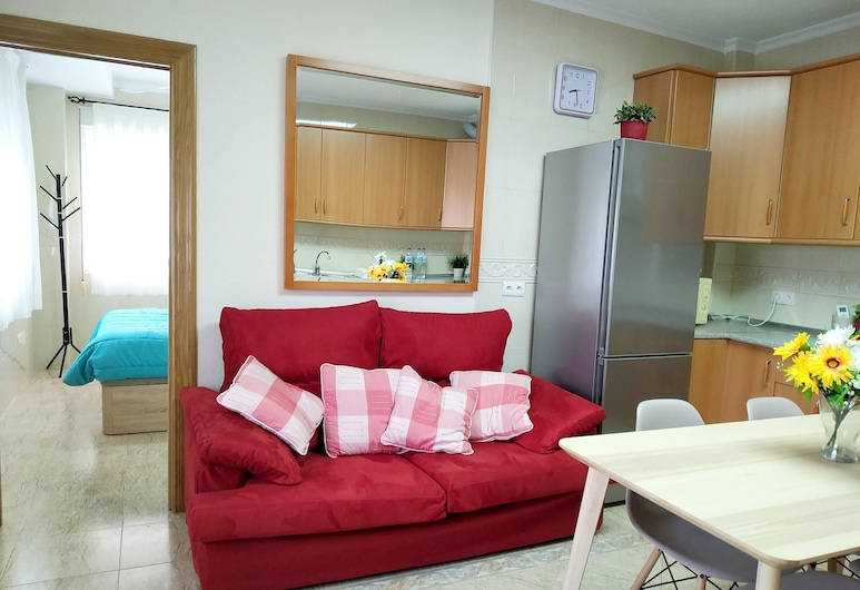 Apartment With one Bedroom in Los Alcázares - 400 m From the Beach, Los Alcazares, Living Room