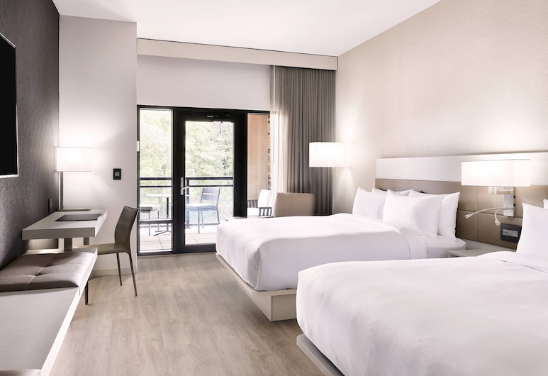 AC Hotel by Marriott Charlotte Southpark, Charlotte, Zimmer, 2Queen-Betten, Zimmer