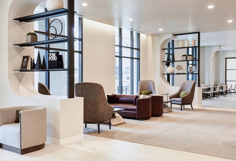 AC Hotel by Marriott Charlotte Southpark, Шарлотт, Вестибюль