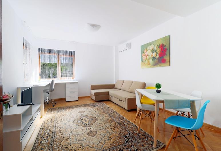 Bohemian Apartment, Bucharest, Comfort Apartment, Living Area