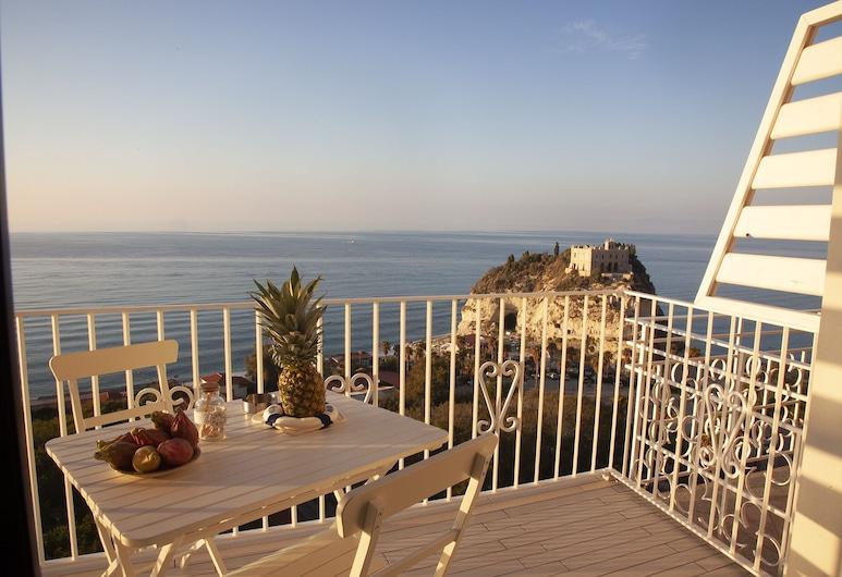 科拉洛內托德酒店, 特羅佩亞, 公寓, 1 間臥室, 海景, 陽台