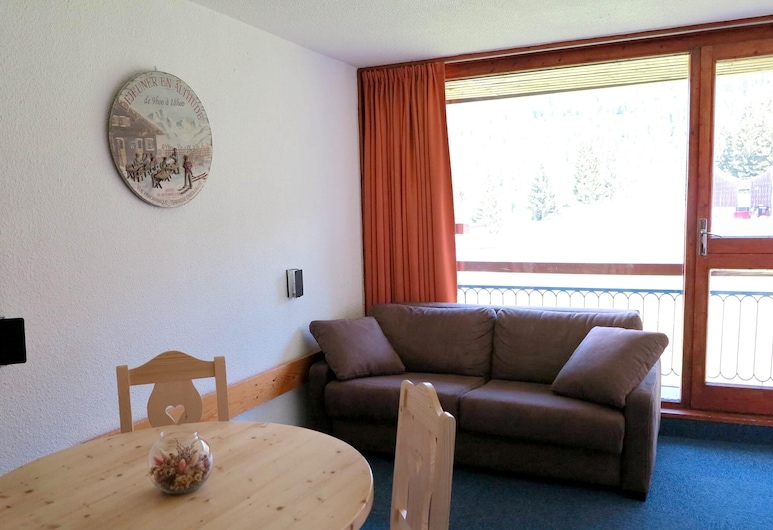 Studio in Bourg-saint-maurice, With Wonderful Mountain View, Balcony and Wifi - 50 m From the Slopes, Bourg-Saint-Maurice