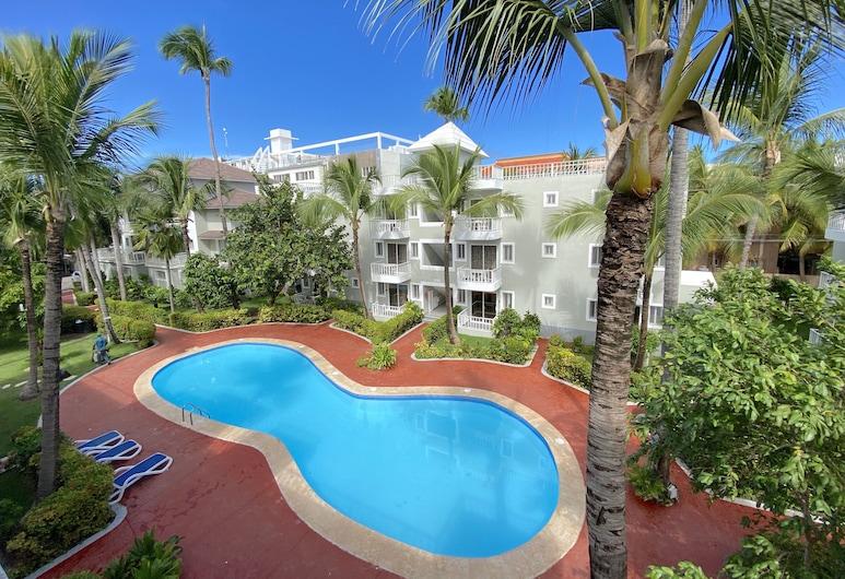 Tropical Deluxe Studios, Punta Cana, Pokój Economy, Taras/patio