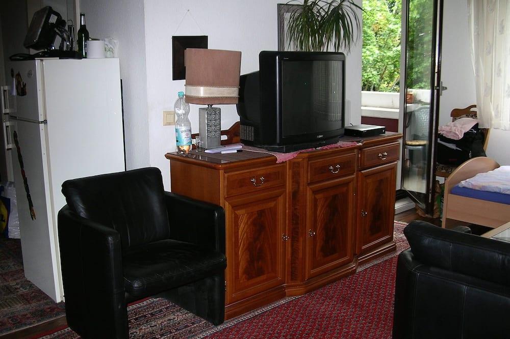 Apartmán, 1 spálňa, balkón - Obývacie priestory