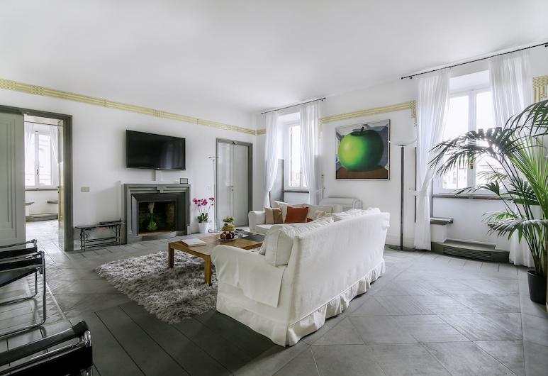 Magia at Colosseum, Rom, Luxury Apartment, 4 Bedrooms, City View, Ruang Tamu