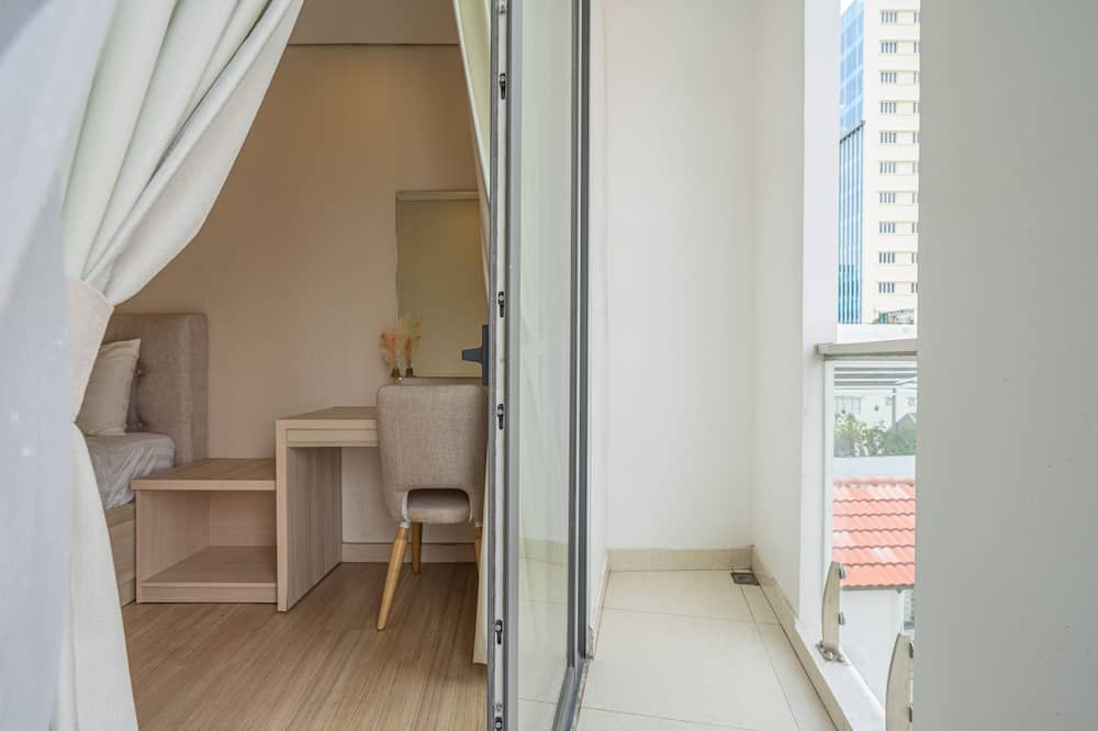 Deluxe Apart Daire, 1 Büyük (Queen) Boy Yatak, Balkon - Balkon