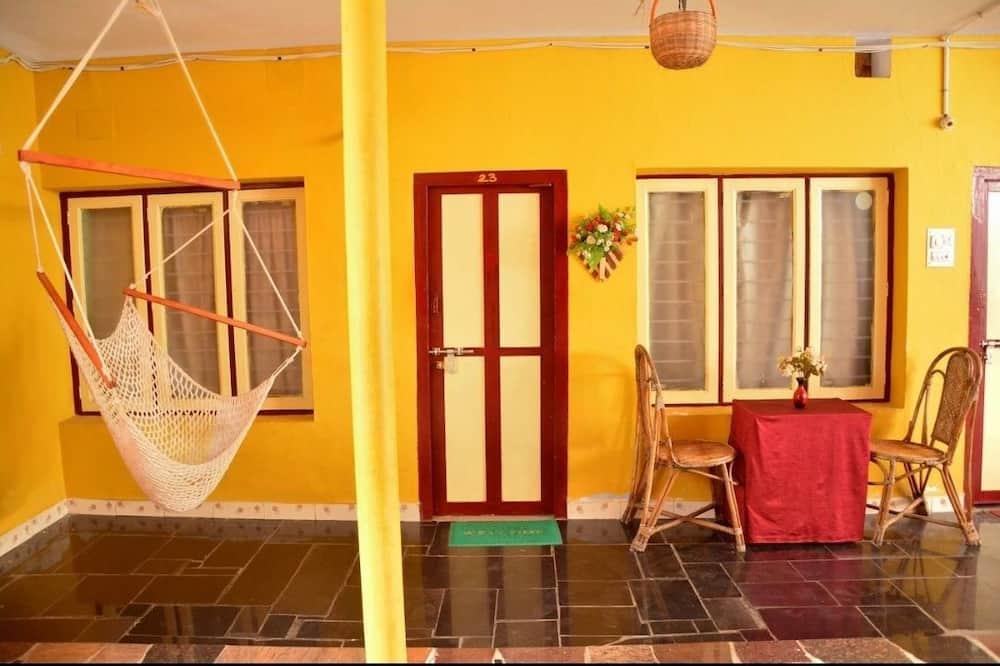 Deluxe-Vierbettzimmer - Wohnbereich