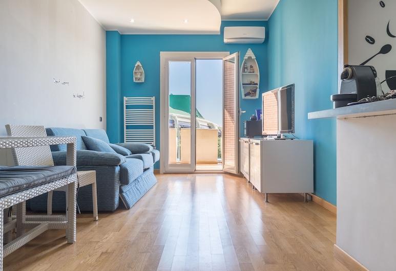 Palafijikam, Rome, Apartment, 1 Bedroom, Living Area