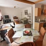 Apartamentai (Suite Gartengeschoss) - Svetainės zona