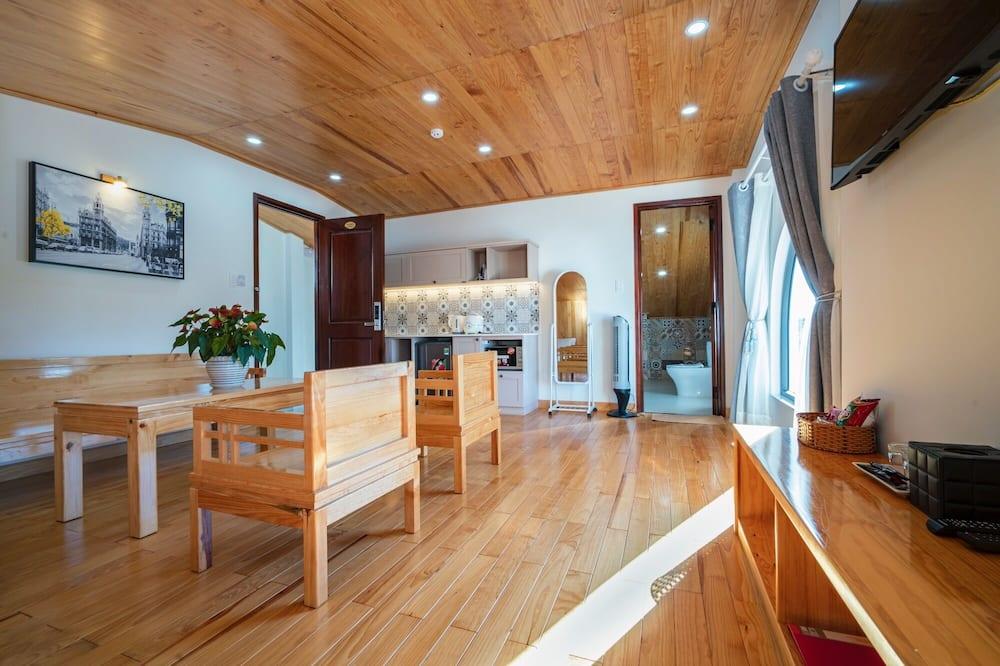 Luxury Penthouse, Terrace - Tempat Makan dalam Bilik