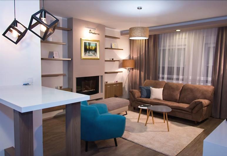 Madea Apartments, נובי סאד, Madea Apartment 64, סלון