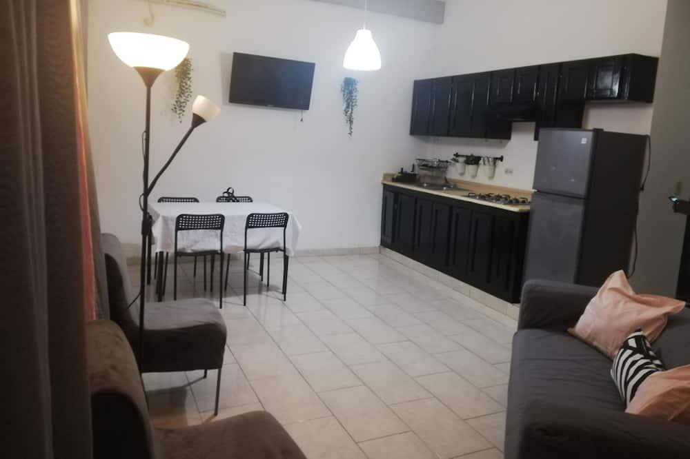 Familienapartment - Wohnzimmer