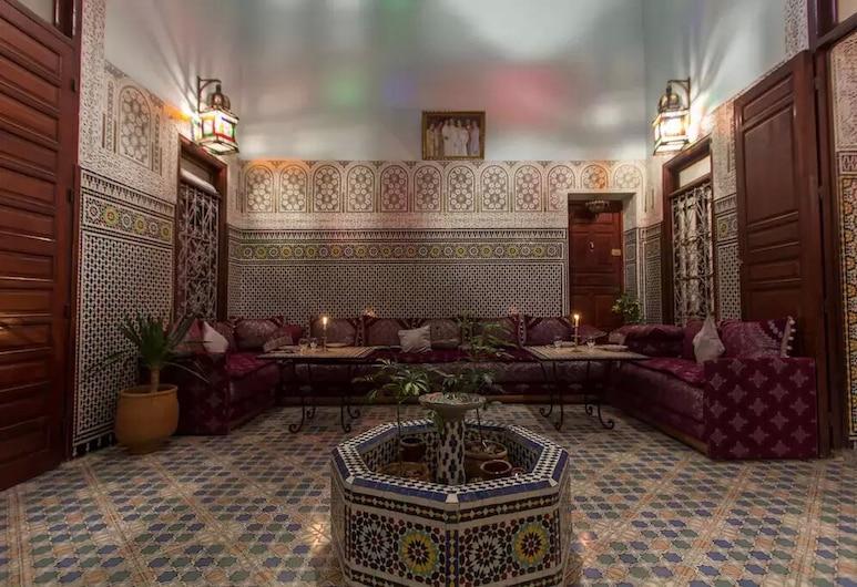 Riad Baba , Fes, Lobby Sitting Area