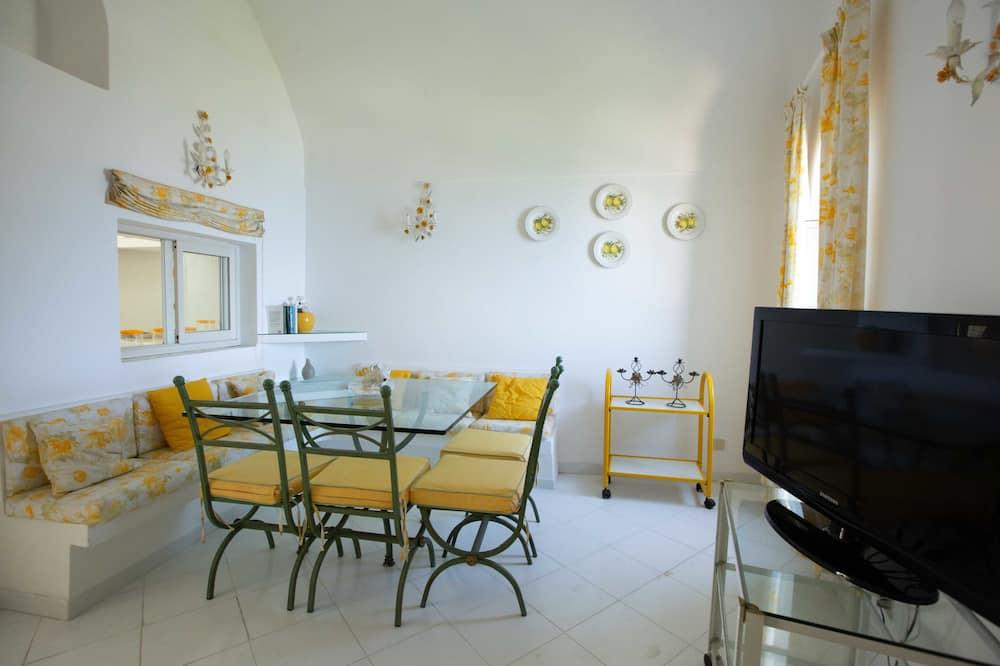 Appartement Tradition, 2 chambres, vue mer - Restauration dans la chambre