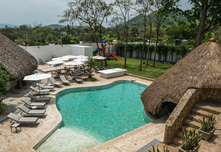Hotel Tantalá , Сьюдад-Валлес, Відкрита веранда