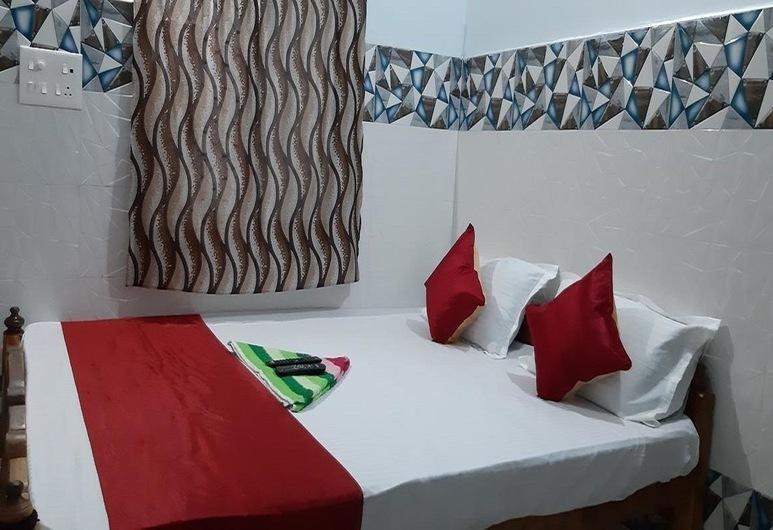Goroomgo Pranab Sadan Puri, Puri, Habitación doble Deluxe, Habitación
