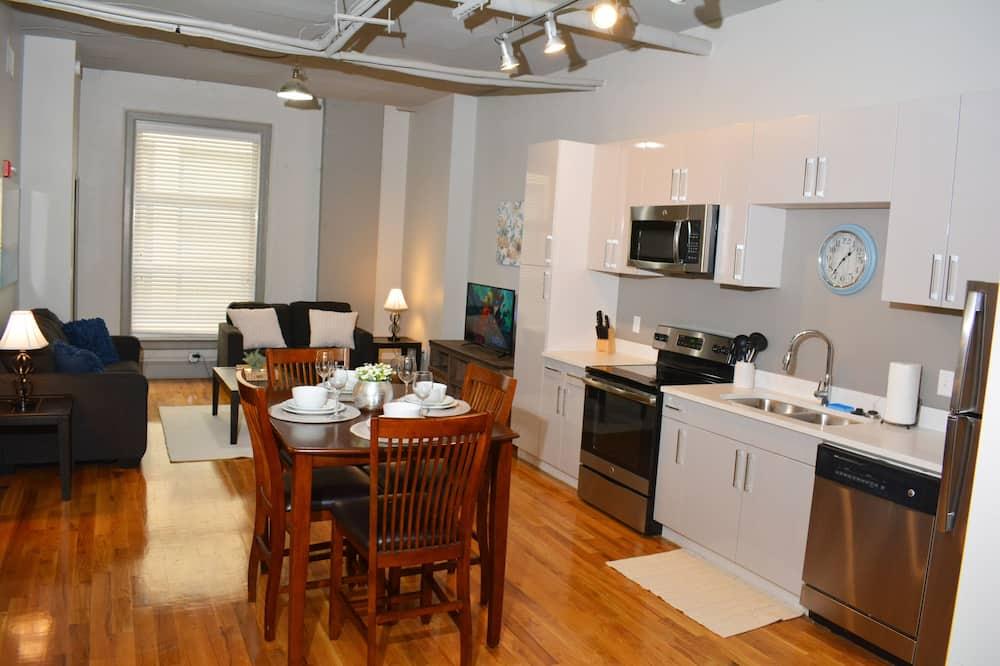 Міські апартаменти - Обіди в номері