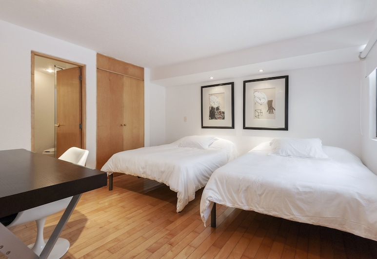 奧胡耶特斯可愛公寓酒店, 墨西哥城, 經典公寓, 客房