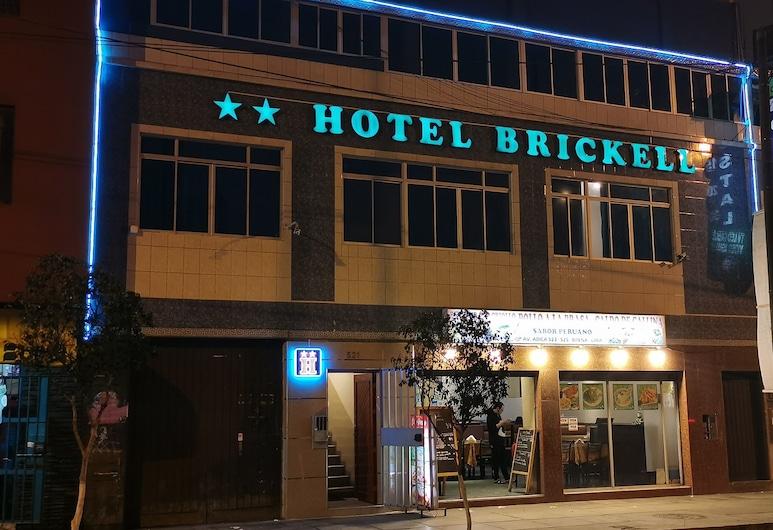 Hotel Brickell, Lima, Hotel Front – Evening/Night