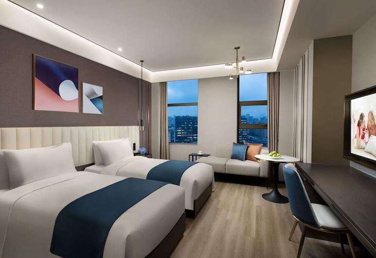 上海馨樂庭陸家嘴公寓酒店, 上海, 豪華雙床房, 客房