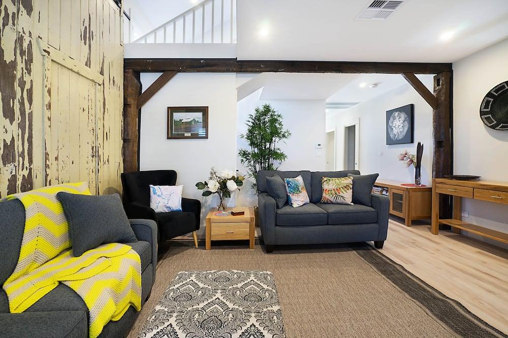 Familienhaus, 3Schlafzimmer, 2 Bäder - Wohnzimmer