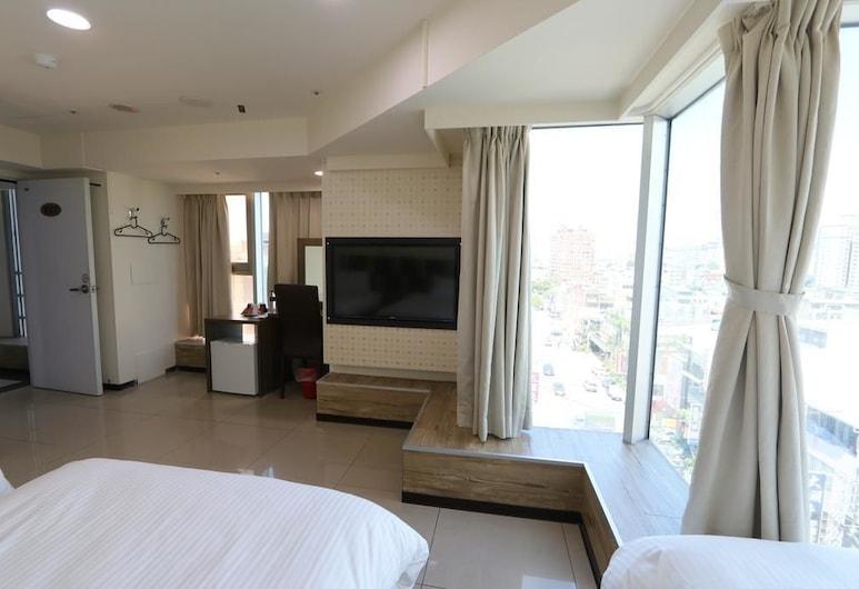伊甸園精緻旅店, 桃園市, 豪華三人房, 客房