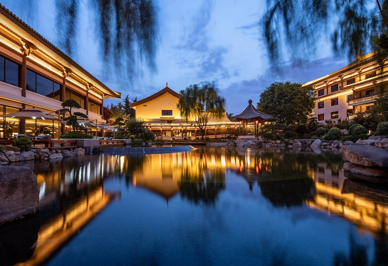 HUALUXE Xi'an Tanghua - An IHG Hotel, Xi'an, Izba, 1 jednolôžko, bezbariérová izba, nefajčiarska izba (Mobility, Roll-In Shower), Dvor
