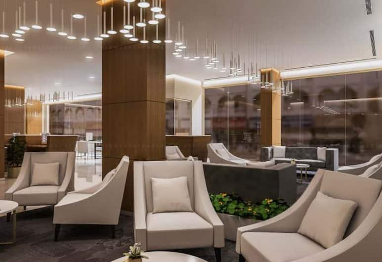 Le Wana Hotel, Dubai, Lobby Sitting Area