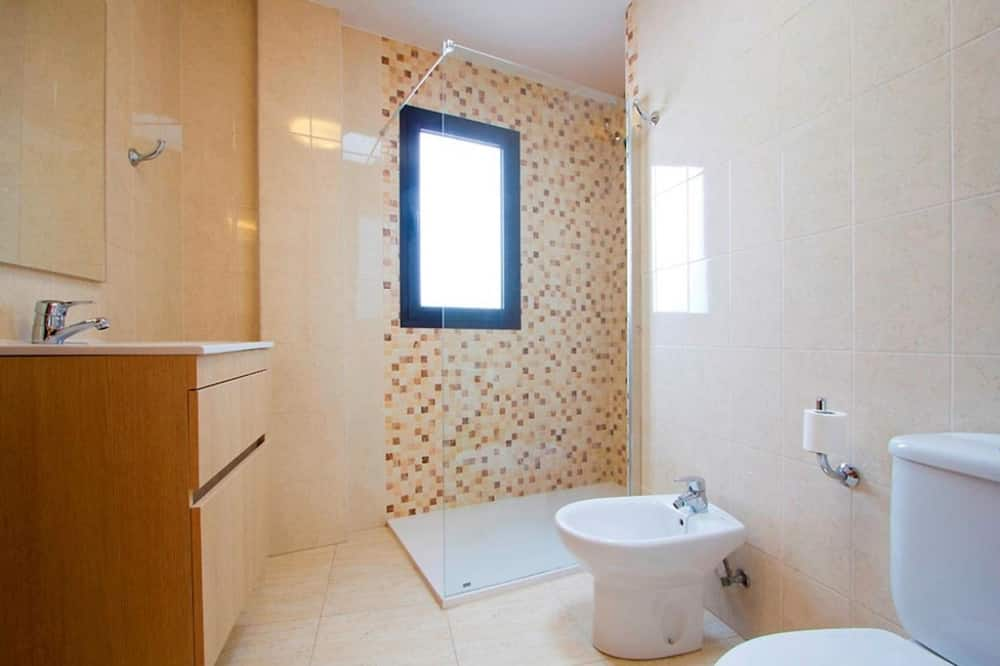 apartman, 2 hálószobával, erkély - Fürdőszoba