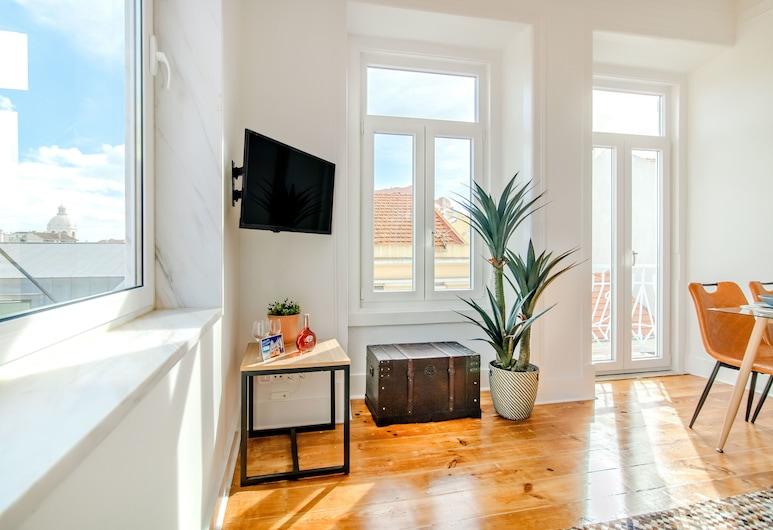 Barbosa River Views Apartment, Lisboa, Leilighet, 3 soverom, Oppholdsområde
