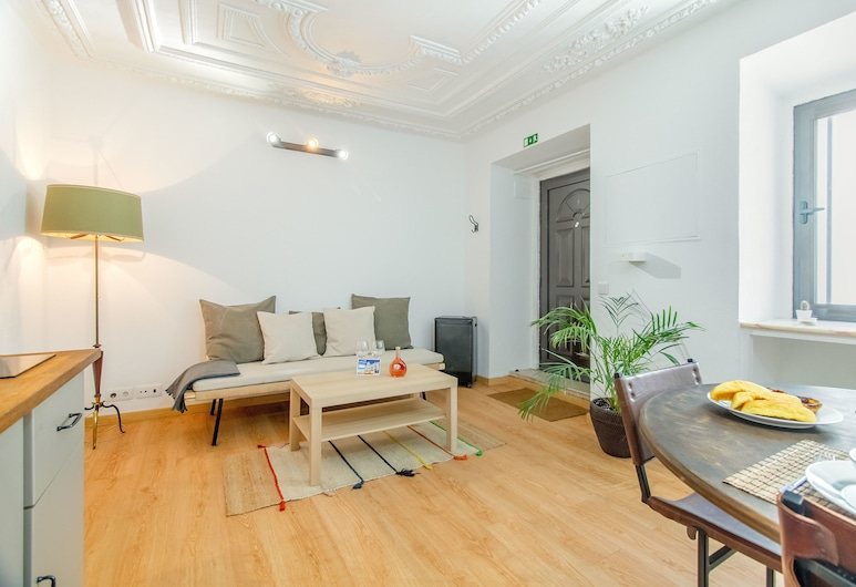 Alcântara Cozy Hideout Apartment, Lisboa, Leilighet, 1 soverom, Oppholdsområde