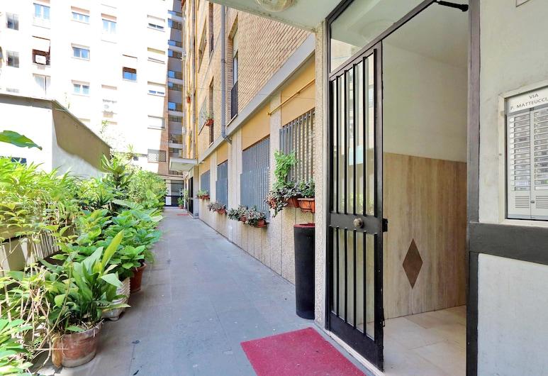 達弗拉米公寓酒店, 羅馬, 住宿入口