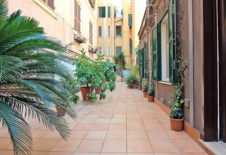 梵蒂岡庭院開放式公寓酒店, 羅馬, 住宿入口