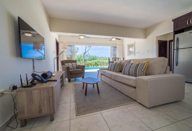 Corner Villa, Sosua, Luxe villa, 2 slaapkamers, Woonruimte