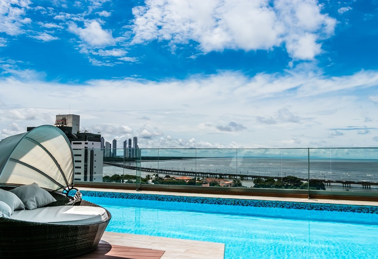 Full Apartment Ocean View, Панама-Сити, «Бескрайний» бассейн