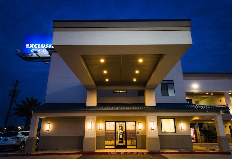 Palace Inn Blue Federal Road, Houston, Hotellets front – kveld/natt