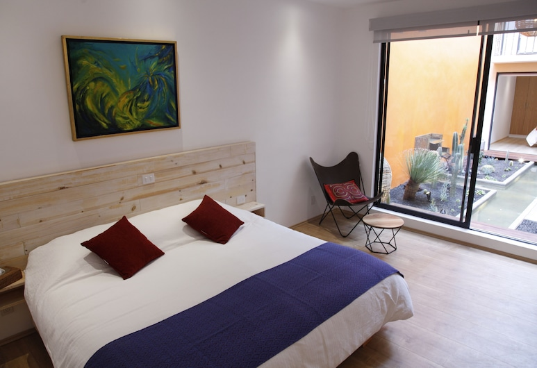 Coyoacan-inn Guesthouse, Mexiko-Stadt, Double or Twin Room  Diego, Zimmer