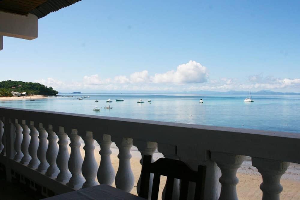 Habitación básica doble, vistas al mar, junto a la playa - Balcón